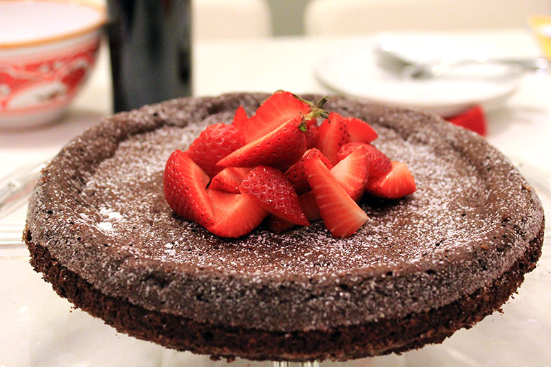 Flour-less Chocolate Torte