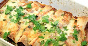 Enchiladas with Beef