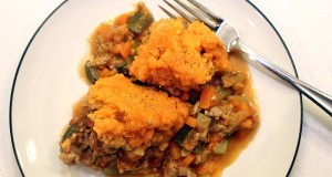 Turkey and Sweet Potato Shepherd's Pie