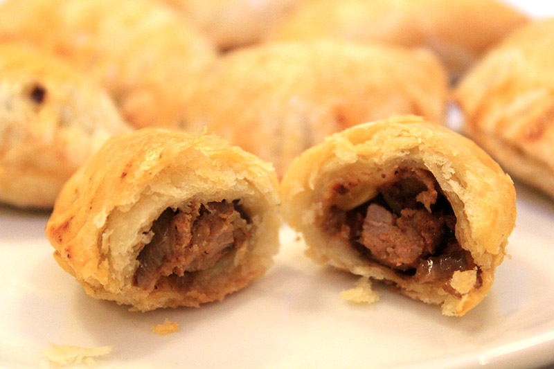 Beef And Chorizo Empanaditas Recipe — Dishmaps