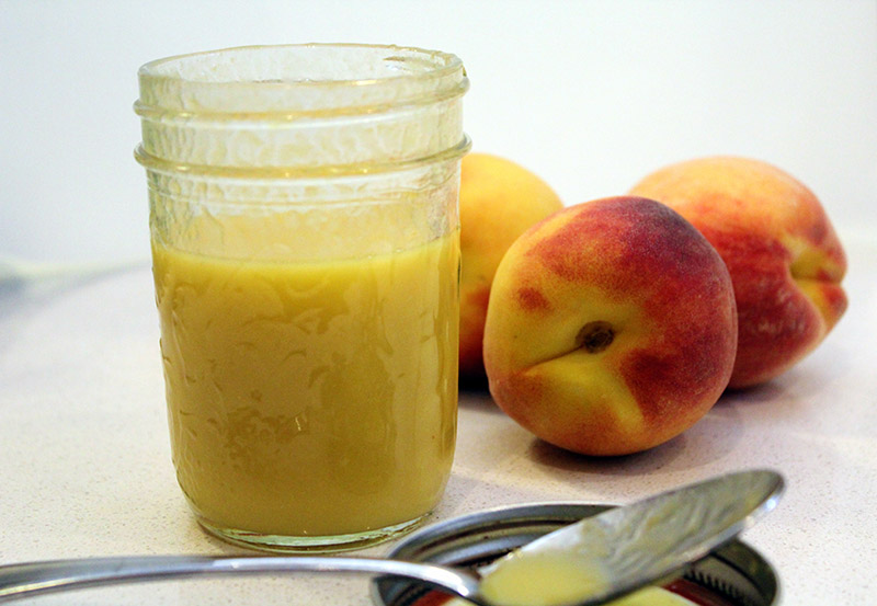 Fresh Peach Vinaigrette